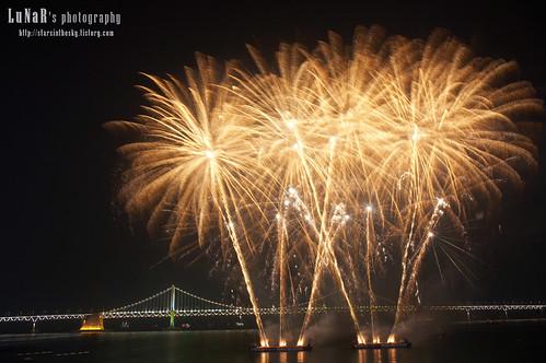 4th Busan Fireworks Festival #1 [Gwangalli Beach, Busan],