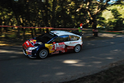 Sebastien LOEB - Séverine LOEB - C4 WRC