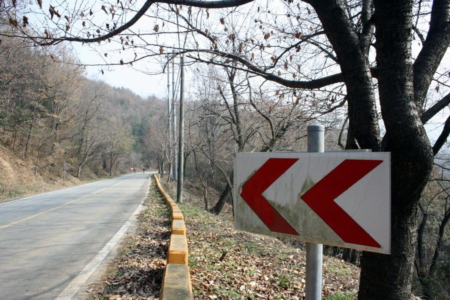 Mati Pass uphill course