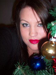 ho ho ho (misscherry_girl) Tags: christmas red tree green oranments