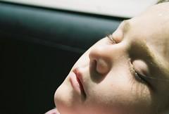 Asleep (thelittlestgiant) Tags: girl eyelashes asleep