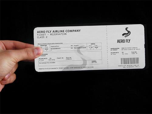 uçak bilet tasarımı acill