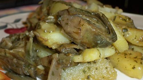 il contorno di patate & carciofi
