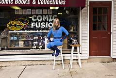 Fantastic Four's Sue Storm at Comic Fusion (amber-the-stylist) Tags: storm comics costume women cosplay susan superhero marvel f4 fantasticfour fantastic4 invisiblewoman suestorm