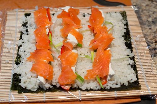 Smoked Salmon Sushi-3