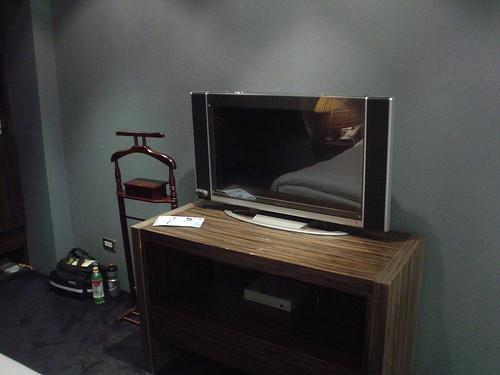 52.豪美旅店:LCD-TV