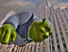 Shrek hdr (joiseyshowaa) Tags: thanksgiving new york city nyc travel vacation holiday ny newyork thanks square island day shrek manhattan balloon broadway mother visit parade giving thanksgivingday macys times float macy celebrate challenge boro bigmomma joiseyshowaa joiseyshowa