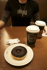 Coffee and a Doughnut