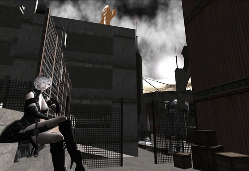 Back alley of kingdom