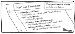 silly funny comic joke humor cartoon reality resolution comicstrip saving savings fitness gym weightloss realistic dollarmenu newyearsresolutions speakfrench theadventuresofdoodlegirl