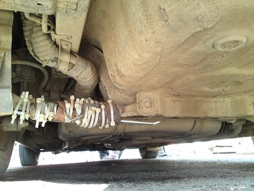 snapped axle