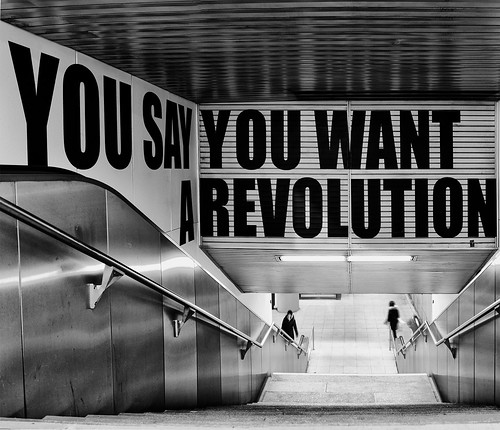 Revolution by tetedelacourse, on Flickr