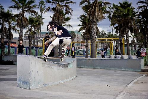 Zac Archuleta Front Nose Slide Santa Monica
