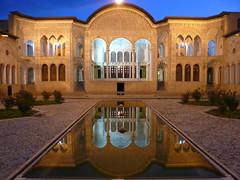 Kashan, maison Tabatabei 1 (Francoisasia) Tags: iran maison kashan historique