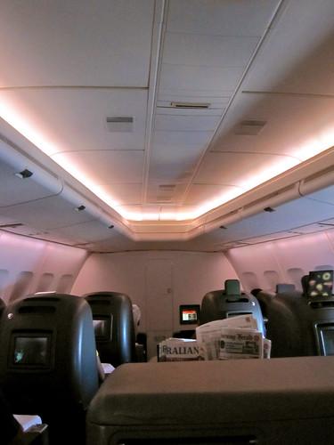 747 Nose - SYD-SIN