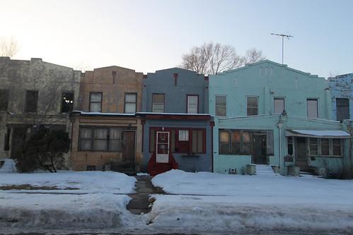 Gary row houses