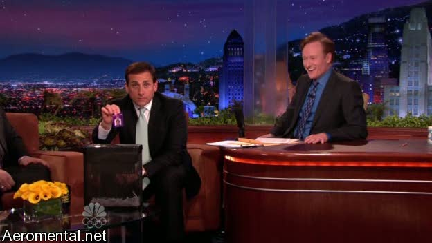 último Conan O'Brien The Tonight Show Steve Carell