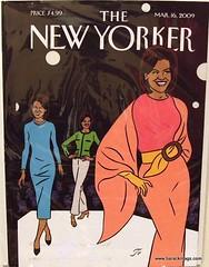 New Yorker - Michelle fashion (barackmagazines) Tags: magazine newyorker barackobama