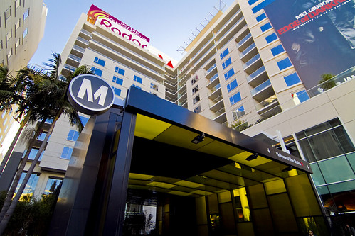 From: Transit oriented W Hollywood Hotel opens today