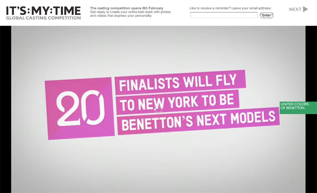 Benetton Its My Time 06