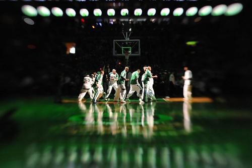 Los Boston Celtics calientan motores