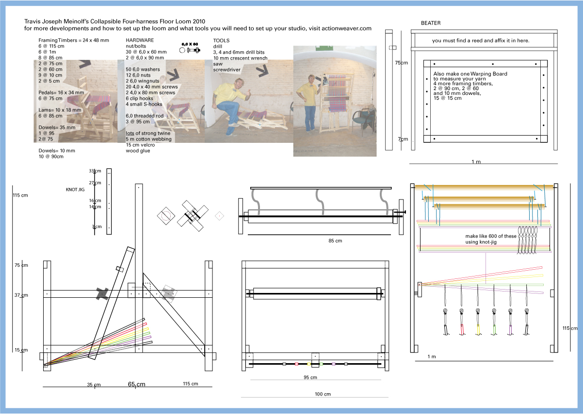 Weaving Loom Plans DIY Free Download Bay Window
