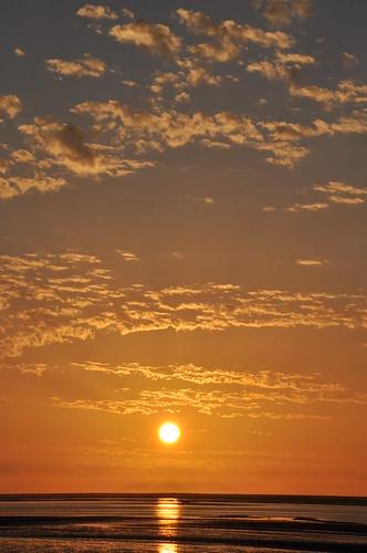 Sunset in Dakhla