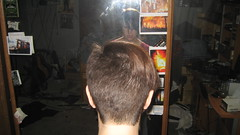 IMG_0868 (raiH enaS) Tags: haircut hair brittany shaved smoking short shorthair buzzednape