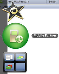 Fonic Surfstick Mobile Partner-Software: Icon im Dock