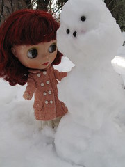 Gretel and the snowman.