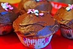Happy Valentine's Day! (Scott Barlow) Tags: love cake lens cupcakes yummy nikon valentine gift valentines treat cupid tamron f4 frosting d300 af1750mmf28spxrdiiivc