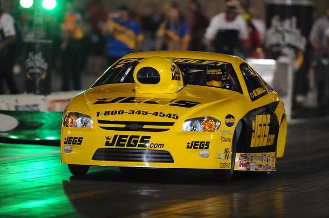 yellow 1 dragracing fullthrottle jegs jegcoughlinjr 2009chevycobalt jeggie