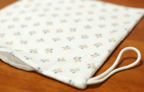 How to make a square bib 6
