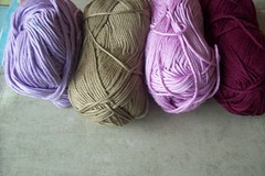 14 (fleurfatale) Tags: new wool colors crochet shades yarn cotton