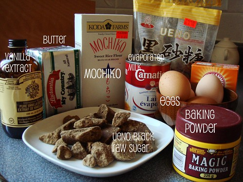 Ingredients For Mochi Cake