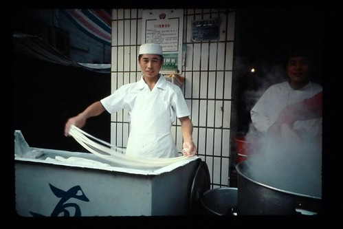 Noodle Guy - Yichang, Hubei, China