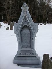 Bethel NY - Bethel Cemetery (GraveWalker) Tags: ny monument cemetery whitebronze zinker