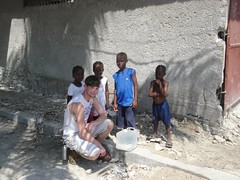 Rob in Haiti
