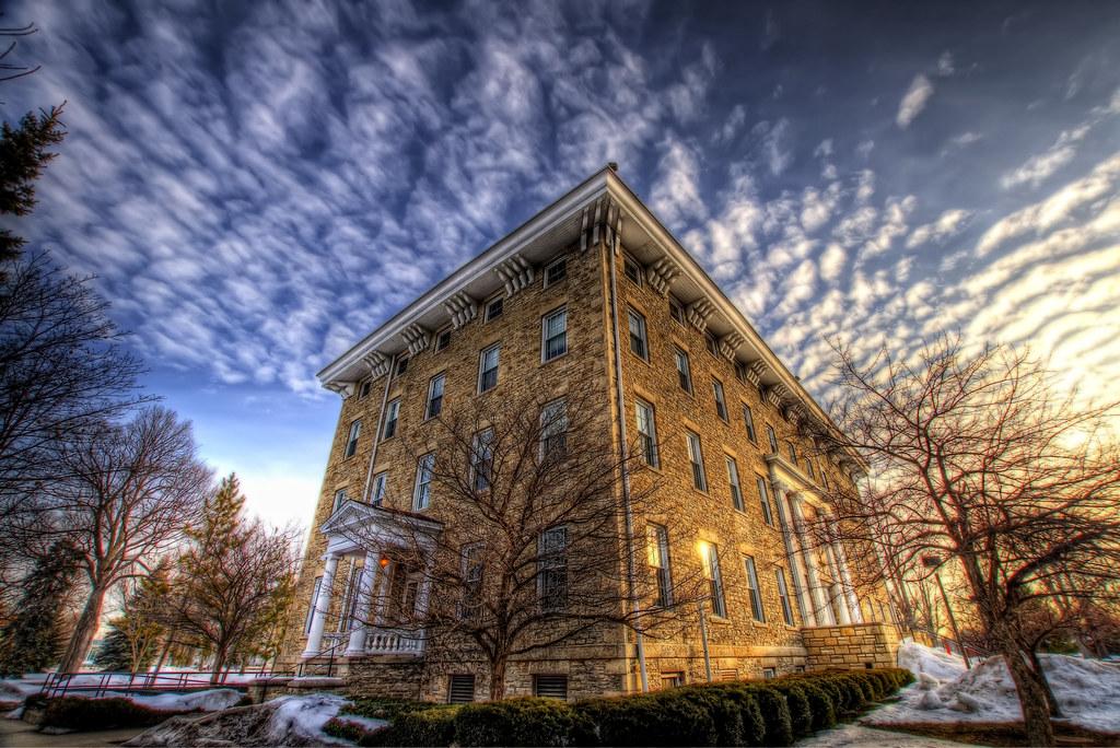 Main Hall at Lawrence University.