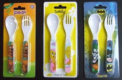 Recalled kids' utensils