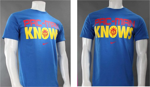 Pacman Knows Tee (Blue)