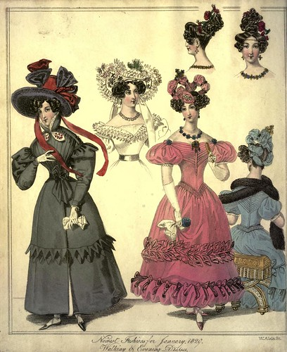 002-The World of fashion and continental feuilletons 1829