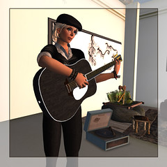 Grace McDunnough plays at the Inside Out Cafe 3-12-2010 (FelineHerdsCats) Tags: livemusic secondlife nevi insideoutcafe gracemcdunnough