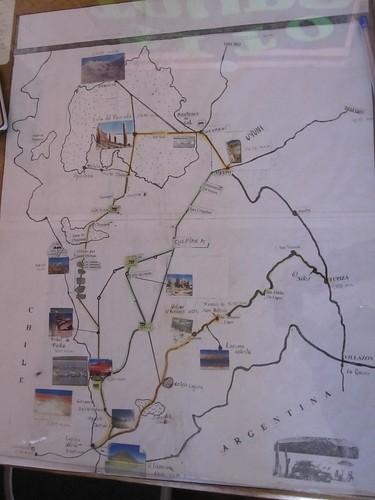 Tito Tours Route