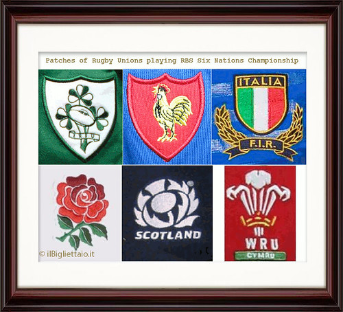 RBS' SIX NATIONS CRESTS