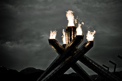 Shiny (the PhotoPhreak) Tags: winter vancouver whistler fire symbol flame olympic cauldron 2010 paralympic