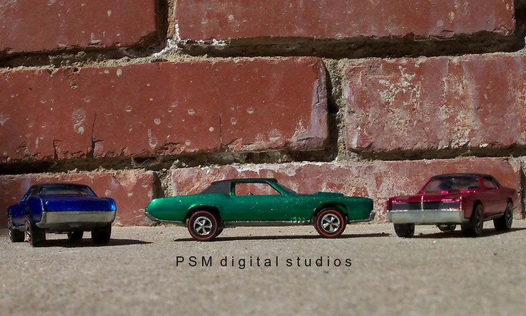 1967 & 1968 Mattel Hot Wheels Cadillac Eldorado's