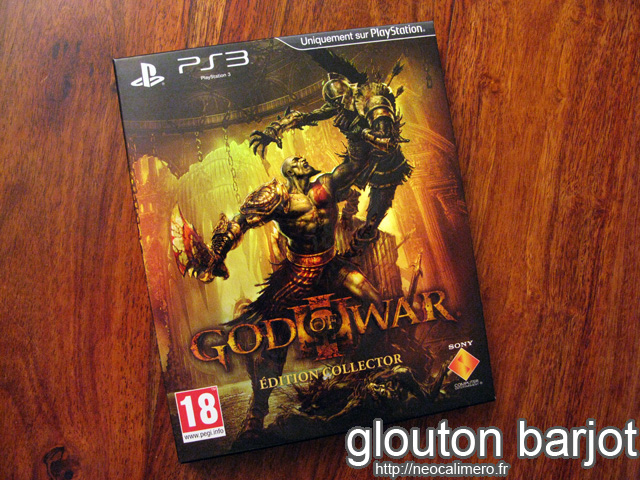 God of War III collector