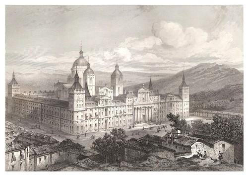 012-El Escorial-Voyage pittoresque en Espagne et en Portugal 1852- Emile Bégin