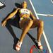 Barbara Oliveira de Brasil medalla de Oro 100 mts